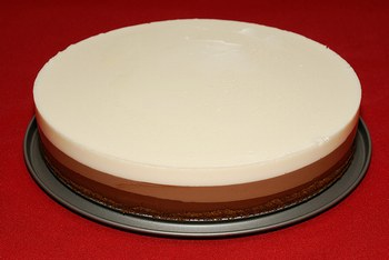 TARTA DE LOS 3 CHOCOLATES CON Thermomix®