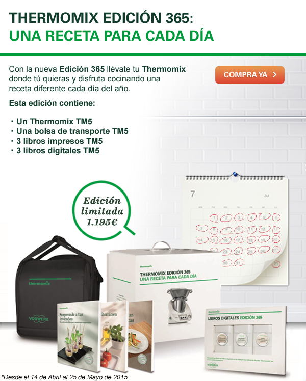 ¡Nueva promoción Thermomix® 365!