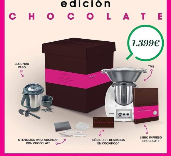 """NUEVA EDICIÓN Thermomix® """"CHOCOLATE """" ( 0% DE INTERÉS)"""