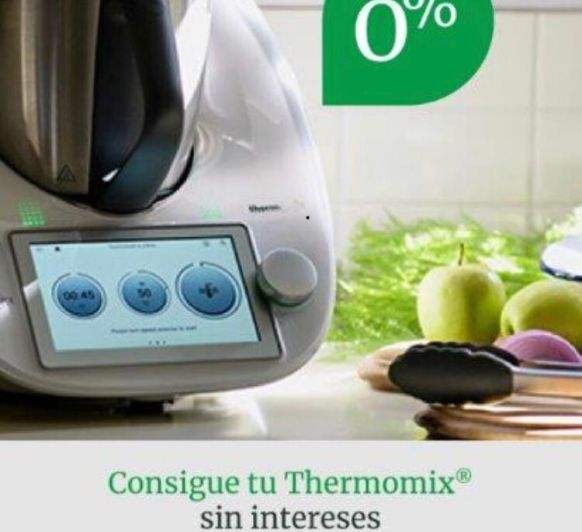 CONSIGUE TU Thermomix® TM6 - FINANCIACIÓN 0%