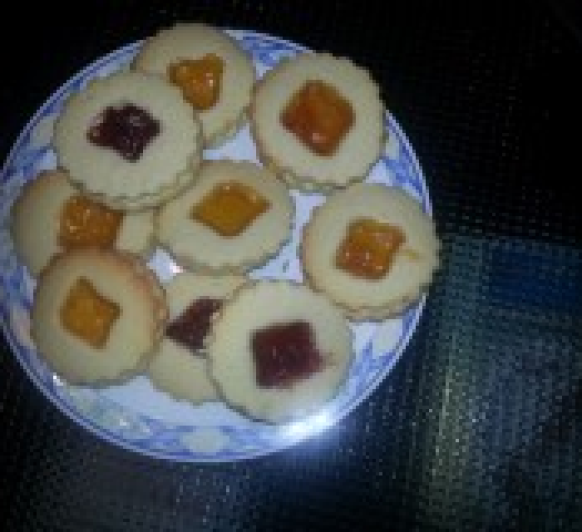 GALLETAS DECORADAS CON CARAMELOS EN Thermomix®