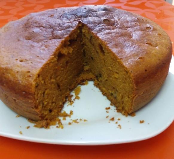 Bizcocho de zanahoria (Carrot cake)