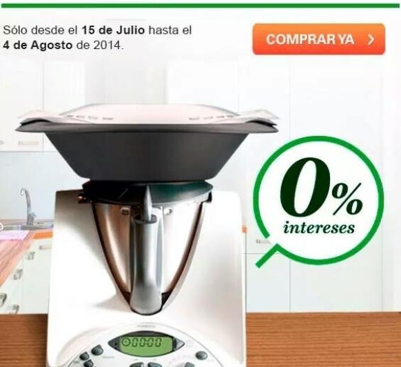 PROMOCION 0% CON Thermomix®