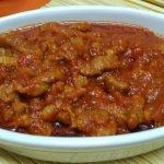 Magreta con tomate.